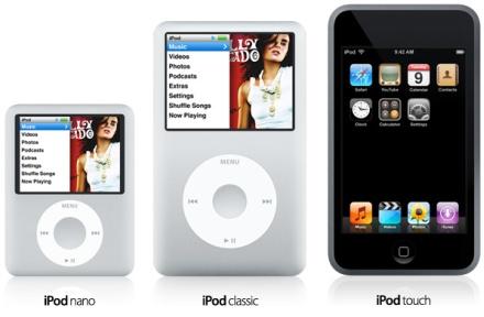 Nuevos iPod 050907