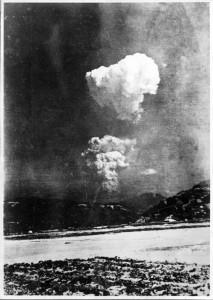 El hongo atomico de Hiroshima