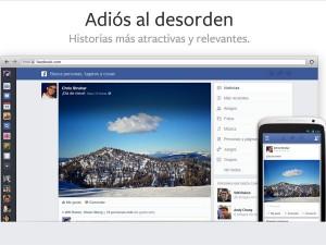 Nuevo look de facebook (2013)