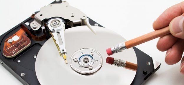 Borrado datos del disco duro